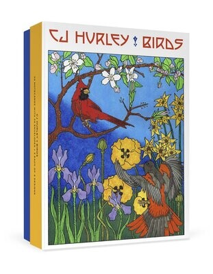 CJ Hurley Birds Boxed Notecards