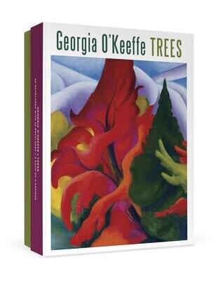 Georgia O'Keeffe Trees Boxed Notecards