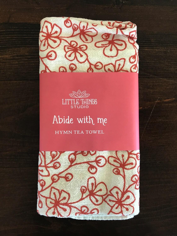 Abide With Me Hymn Tea Towel
