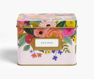 Juliet Rose Recipe Box