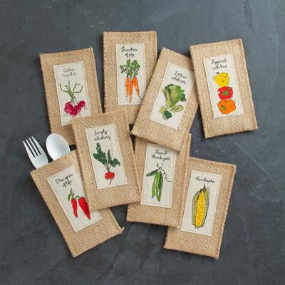 Assorted Veggies- Set of 8