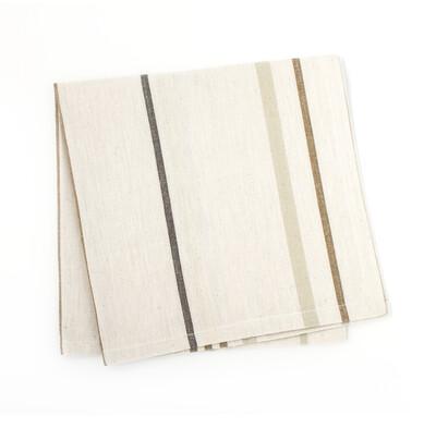 Neutral Striped Napkin- Set of 4