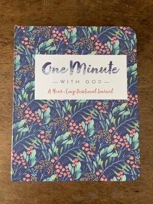 10977 One Minute with God Devo Journal
