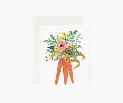 Carrot Bouquet Card