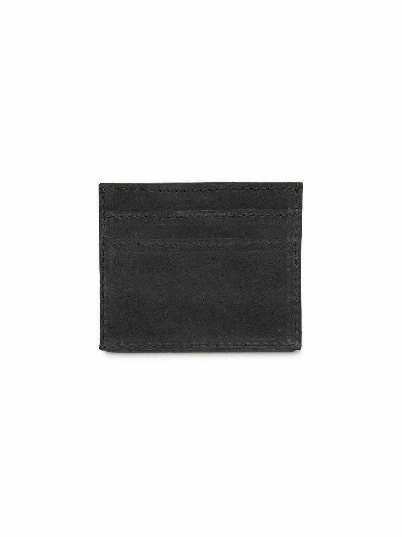 Alem Card Wallet- Black