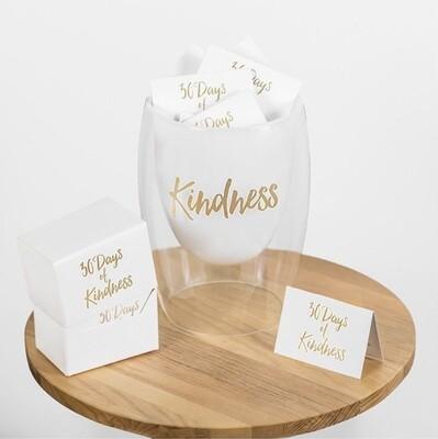 30 Days of Kindness Glass Jar