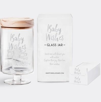 Baby Wishes Glass Jar