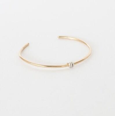 Triple Wrap Bracelet- Gold Filled