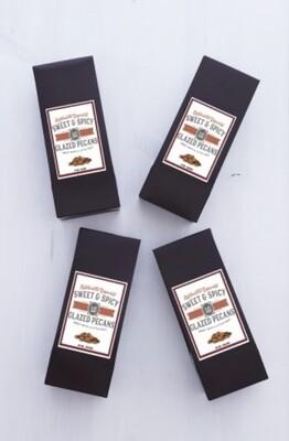 4 oz. Box Spicy Glazed Pecans