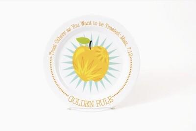 Golden Rule Plate