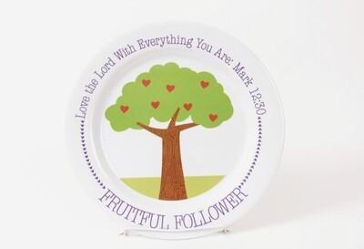 Fruitful Follower Plate