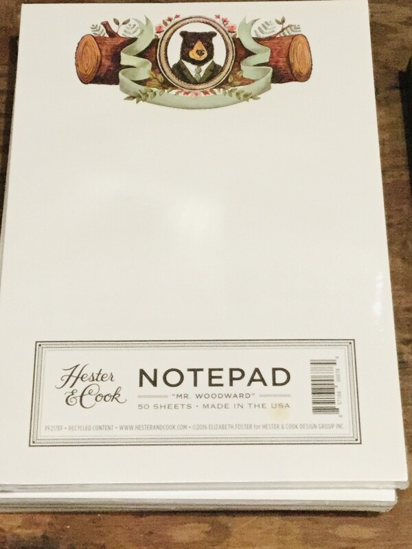 P&L- Hester & Cook Notepad