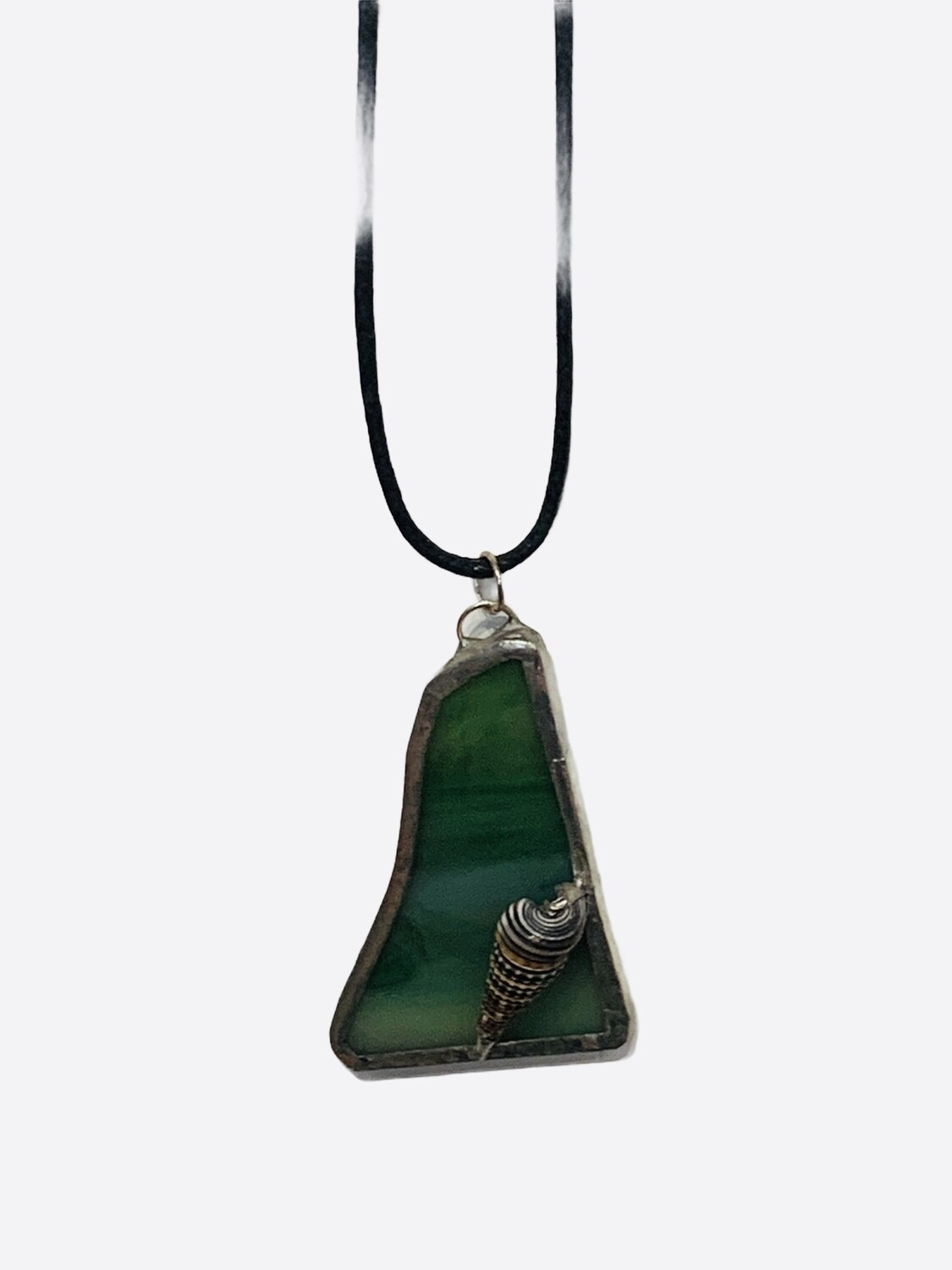 Maria- Stained Glass Necklace