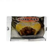 Pukka Wrapped Cooked All Steak Pie x 1