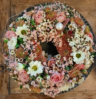 Blumenkränzli rosa