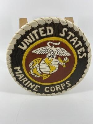 Color USMC Kids Stool