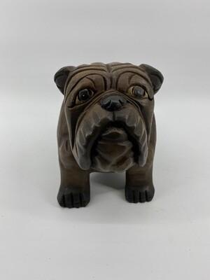 Wooden Bulldog Lg