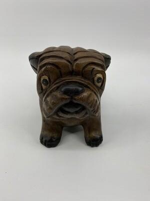 Wooden Bulldog Sm