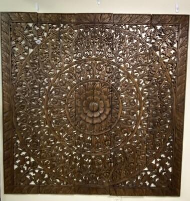 5 Pc Panel Dark Brown