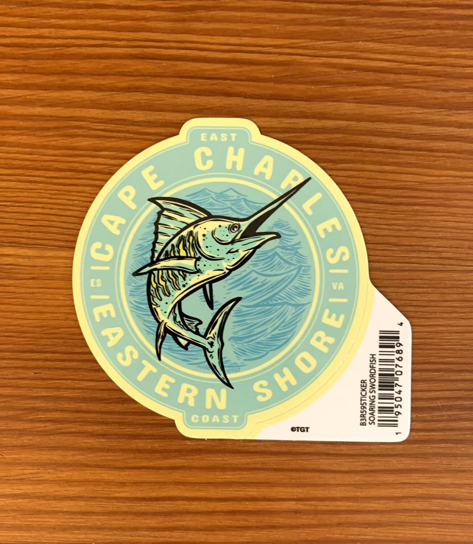 Stickers Soaring Swordfish