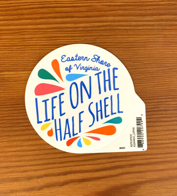 Sticker Life on the Half Shell Squirt