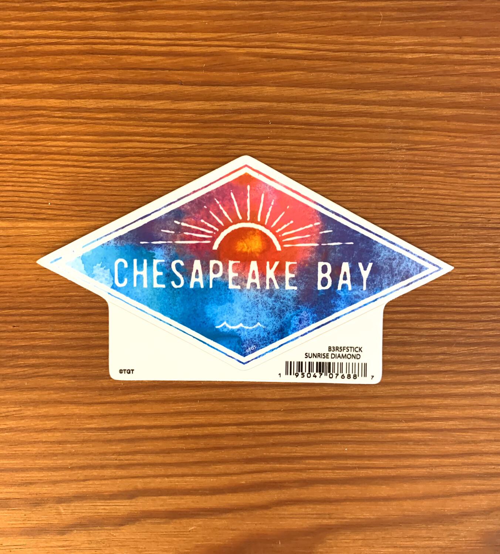 Stickers Sunrise Diamond Chesapeake Bay