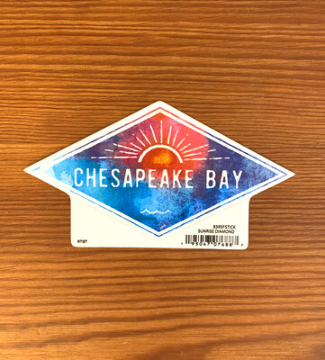 Stickers Sunrise Diamond Chesapeake Bay