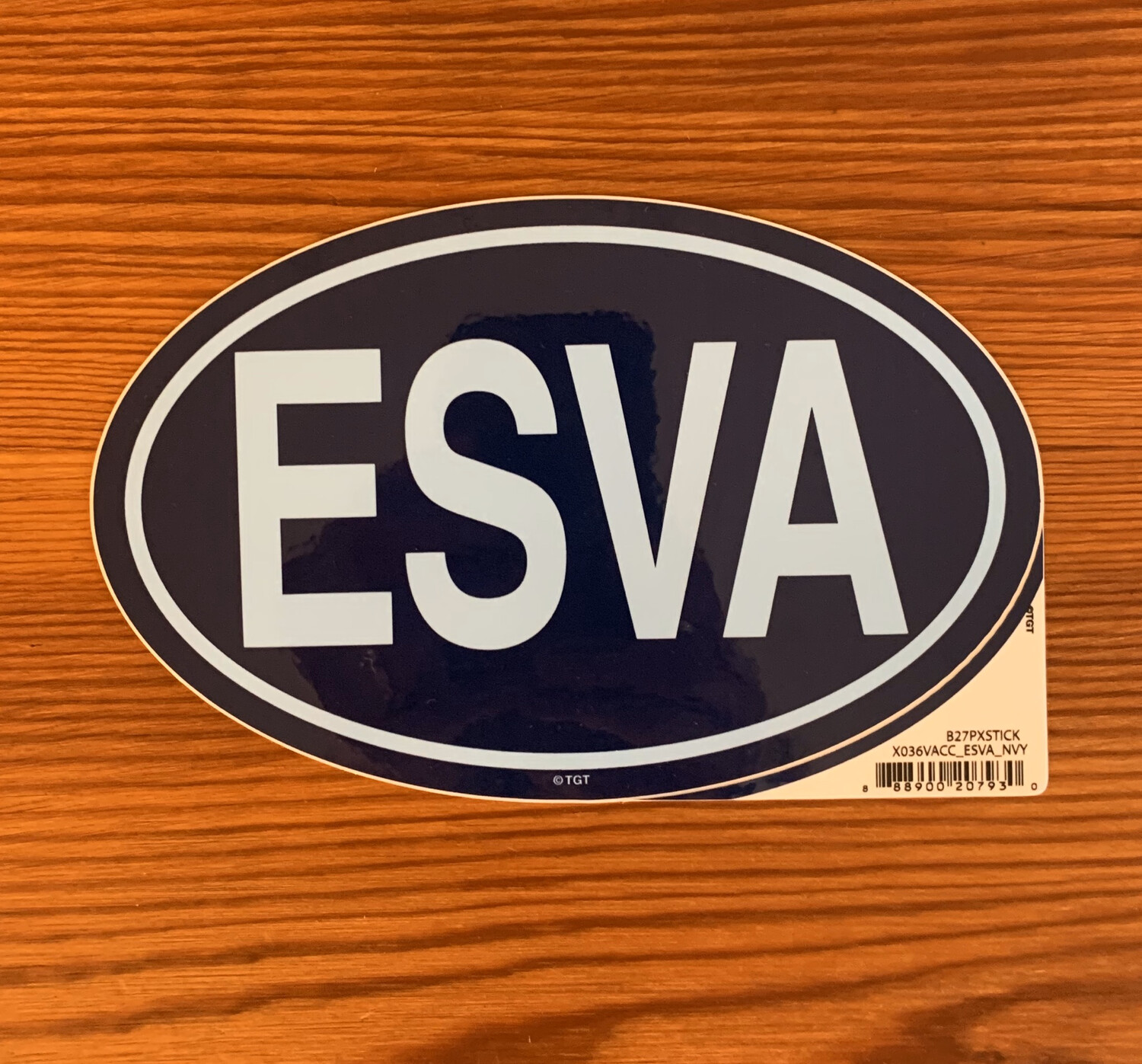 Stickers ESVA Oval Navy