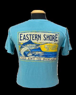 Tee U Seaworthy Marlin Seafoam