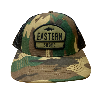 Hat Army Camo Trucker ESVA Adult