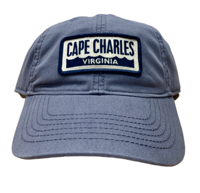 Hat Cape Charles Wave Slate Blue Adult