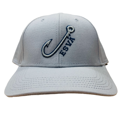 Hat Mid-Pro Light Gray ESVA Hook Adult