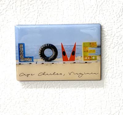 Souvenir Magnet LOVE CCVA