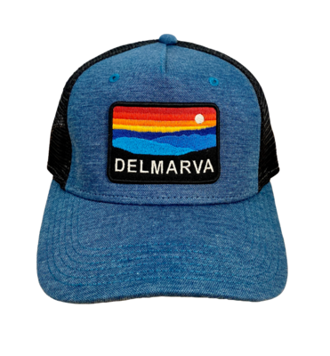 Hat A Roadie Trucker Delmarva MarineBlue/Black