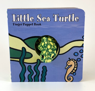 Book Little Sea Turtle Finger Puppet