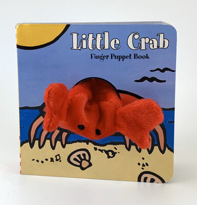 Book Little Crab Finger Puppet