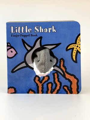 Book Little Shark Finger Puppet