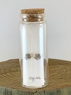 Jewelry Earrings Tiny Crab Bottle