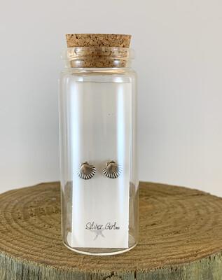 Jewelry Earrings Scallop Shell Bottle SG
