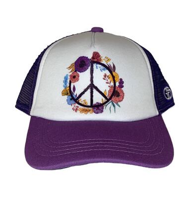 Hat Y Boho Peace Lavender