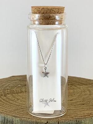 Jewelry Necklace Starfish Bottle