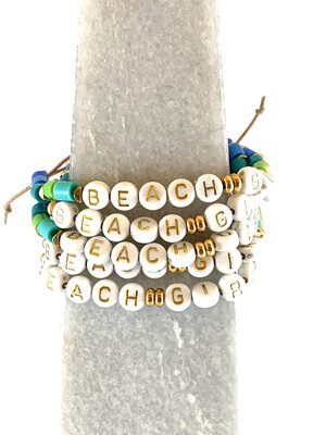Jewelry Bracelet Beaded Beach Girl