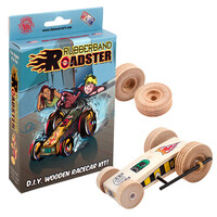 Toy Rubberband Roadster Kit