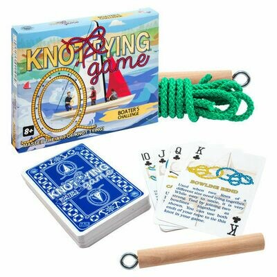 Toy Knot Tying Games