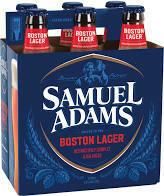 Sam Adams Boston Lager 6 pk
