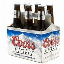 Coors Light 6 pk