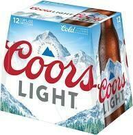Coors Light 12 pk