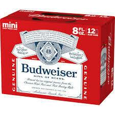 Budweiser 12 pk cans