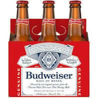 Budweiser 6 pk
