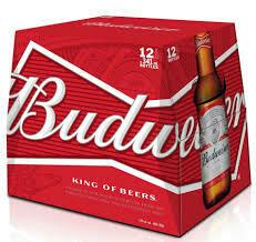 Budweiser 12 pk